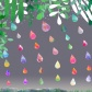 Rain Drops Watercolor