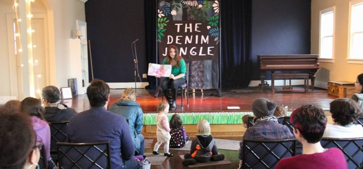 Author Angela Taylor Hylland Stage Event